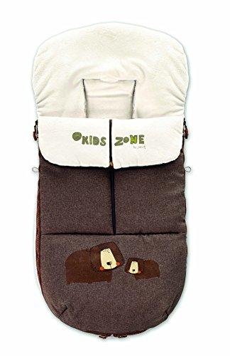 Jané Nest Saco para Silla de Paseo, Universal, Interior Polar, con Cremallera, Protege del Frío, Lluvia y Viento, Color Terrain