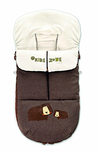 Jane Nest Saco para Silla de Paseo, Universal, Interior Polar, con Cremallera, Protege del Frio, Lluvia y Viento, Color Terrain