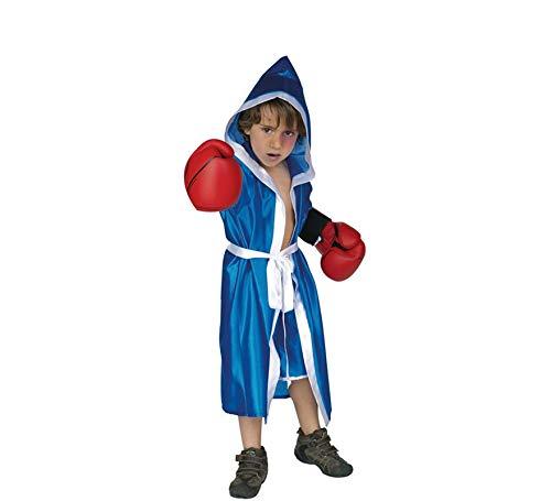 Disfraz boxeador infantil. Talla 5/6 años.