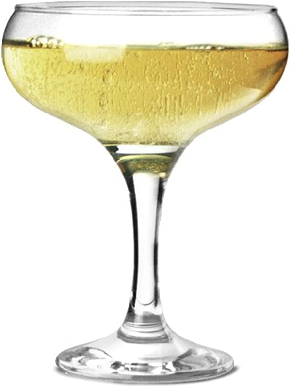Bistro Champagne Saucers 9 7oz 275ml Set Of 12 27 5cl Champagne Glasses Champagne Coupe Glasses Elegant And Affordable