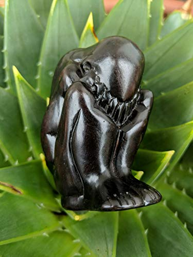 New Asian Sculpture Yoga Squat Weeping Buddha Statue Meditating Buddhist Yogi Figure Home Garden Decor