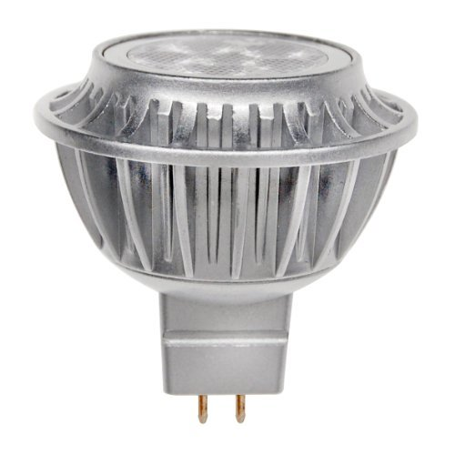 LEDs Change The World LED SPOT GU5.3 (MR16) silber 33° 4,5 W ersetzt bis zu 35Watt Halogen echtes warmweiß 2700 Kelvin