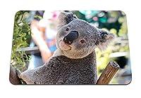 22cmx18cm マウスパッド (コアラ動物の顔の鼻) パターンカスタムの マウスパッド