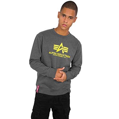 ALPHA INDUSTRIES Men's Basic Sweater Survival Jersey