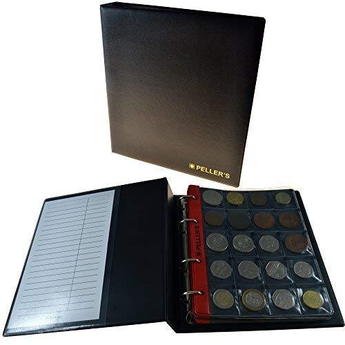 PELLER'S AM200B Album da Collezione, 200 Monete Fino a 1,22