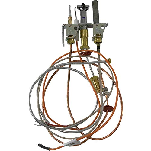 Empire Direct Vent Fireplace Natural Gas Pilot Assembly with Thermopile & Thermocouple R5143