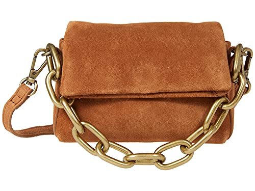 Free People Charlie Chain Crossbody Tan One Size