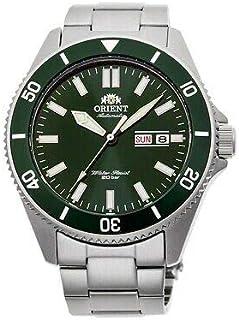 ساعة رياضية ميكانيكية بسوار من الستانلس ستيل للرجال من اورينت، موديل RA-AA0914E09C