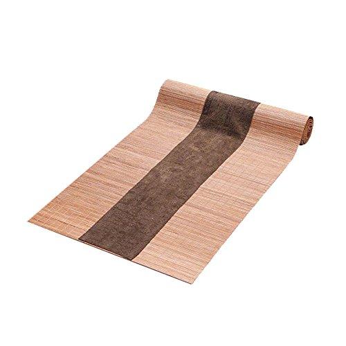 Japanischen Stil Tischdekoration Bambus Tischläufer Matte Tee Vorhänge-A4