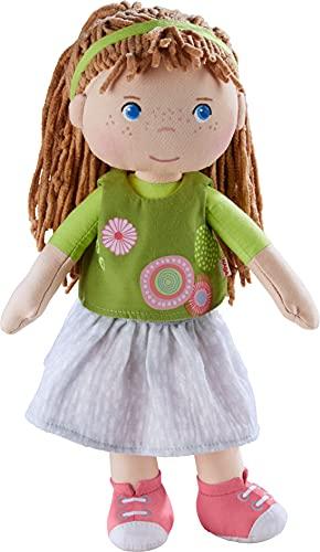 HABA 305972 Puppe Hedda, 30cm, ab 1,5 Jahren, mit weichem Körper