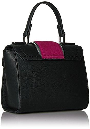 The Fix Love Mini Top Handle Crossbody Bag, Black