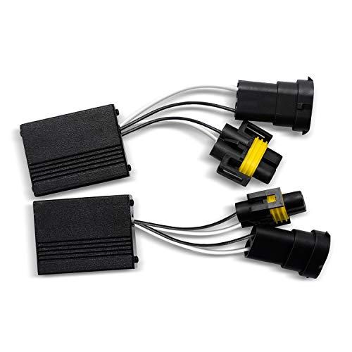Win Power 880 / H11 (H8 H9) LED-Scheinwerfer Decoder CAN-BUS Kein Fehler Warnung Canceller Anti-Flicker-Widerstand Harness, 2St