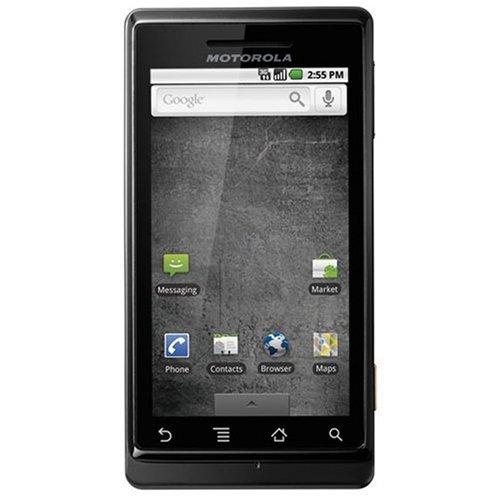 Motorola Milestone Smartphone (QWERTZ, Android, 5MP Kamera) black