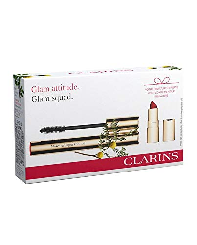 Clarins Supra Volume Mascara Black Set 2 Pieces 2020