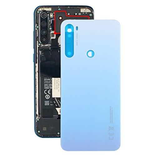 Tapa Trasera Reemplazar Tapa Trasera de la batería for Xiaomi Redmi Note 8T / (Color : Silver)