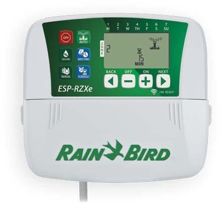 Rain Bird - RZXe - Programador de riego de interior para 8 zonas con predisposición wifi