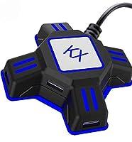 Ce convertisseur a été élaboré pour les joueurs de FPS/MMORPG/SIMULATION sur console. Il vous permettra de jouer Xbox One, PS4, PS3, PC avec votre clavier et/ou souris Compatible pour PS4 / PS4 Pro / PS4 Slim / XBOXOne / XBOXOne S / XBOXOne X / PS3 /...