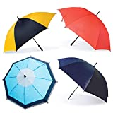 Oakthrift 4 Pack Golf Umbrellas | Premium 60 Inch Large Storm Proof With Random Logo