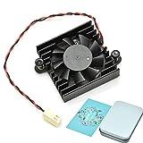 BAY Direct Heatsink Ventilador de refrigeración con caja para DaHua DVR/HDCVI Cámara Fan DVR Motherboard Fan 5V DAHUA Ventilador con 2 cables 2 pines