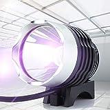 Asixxsix Lampada USB a Luce Ultravioletta, Lampada fotopolimerizzante UV per Resina, ABS 5V per la Riparazione del Telefono Cellulare Trattamento con Olio Verde Controlla la Sicurezza del Denaro
