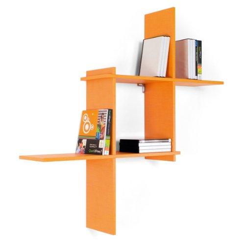 Sconosciuto Bibliothèque Eracle couleur orange