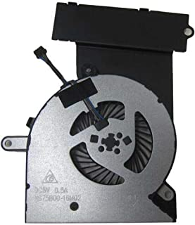 Replacement CPU Cooling Fan 812109-001 0FGBW0000H for HP Pavilion15-ab269na K7Q64EA#ABU Model One Click Components
