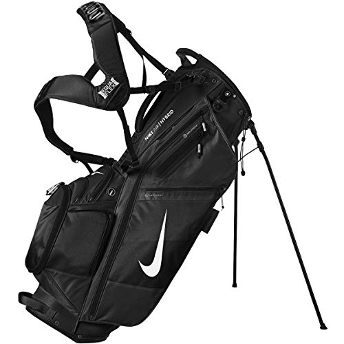 Product Image 1: Nike Golf Stand Bag - Air Hybrid, Sports, Lite - Unisex (AIR Hybrid - Black (14-Divider))