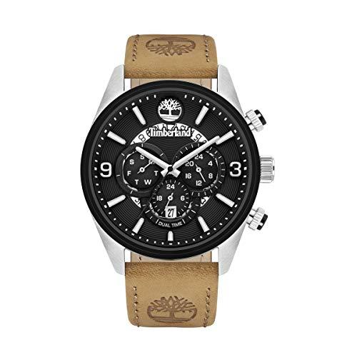 Timberland Reloj Analógico para Hombre de Cuarzo TBL16014JSTB.02