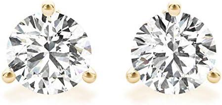 IGI Certified 14K White Gold or Brand Cheap Sale Venue YG Super Special SALE held Grown Stud Lab Diamond Round