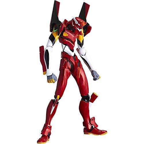 huanghuang Neon Genesis Evangelion EVA-02 Modelo de producción (edición Limitada) Figura de acción Multicolor