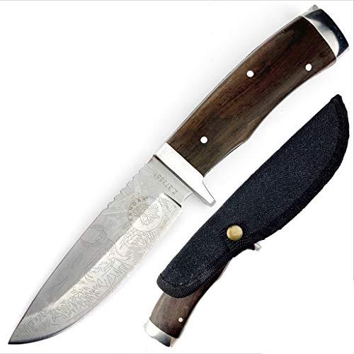 KanDar JM-12 • FESTSTEHENDE Messer JAGDMESSER • Gesamtlänge: 225mm • FTM-de.