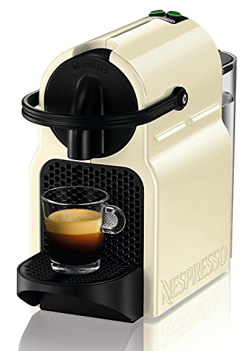 DeLonghi Nespresso Inissia EN 80.CW - Cafetera automática, 19 bares, color crema
