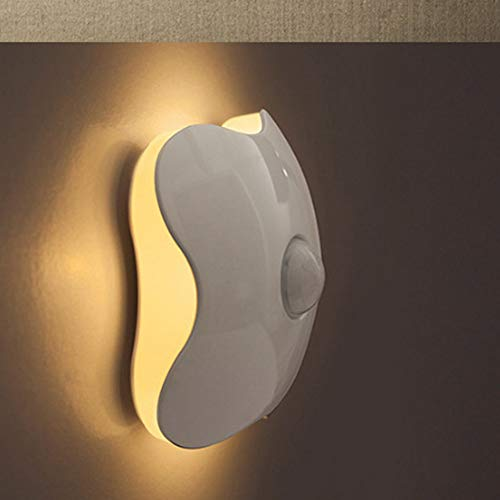 LED Corpo Umano Induzione Notturna Luce Usb Caricamento Quadrifoglio Quadrifoglio Quadrifoglio Intelligente Controllo Luce Armadio Luce, Camera Da Letto Dormitorio Luce Artefatto Forniture Per La Casa