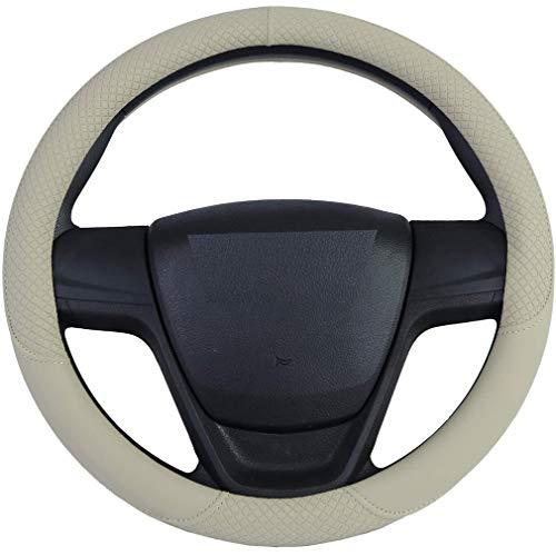 All Seasons auto stuurhoes onderdelen rubberen stuurwiel beschermhoes auto accessoires beige