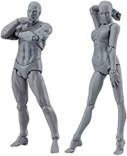 Drawing Figures for Artists Action Figure Model, Body Kun Doll, Artists Manikin Blockhead Jointed Mannequin Drawing Figure...