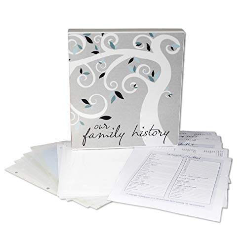UniKeep Family History Records Organizer and Binder