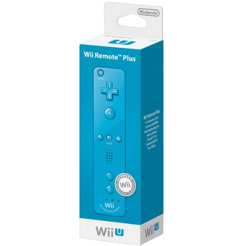 Nintendo Wii/Wii U - Mando Plus, Azul