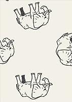 igsticker ポスター ウォールステッカー シール式ステッカー 飾り 841×1189㎜ A0 写真 フォト 壁 インテリア おしゃれ 剥がせる wall sticker poster 010710 ぞう 動物 白 黒