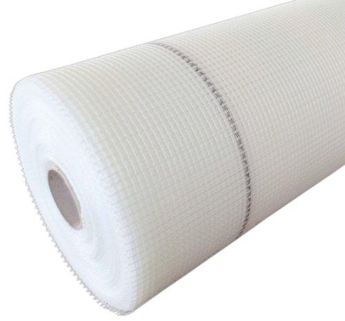 Armierungsgewebe 50 cm / 500mmx50m 165 g/m² weiß Vollwärmeschutz 4x4mm Maschenweite Glasgittergewebe Gewebe