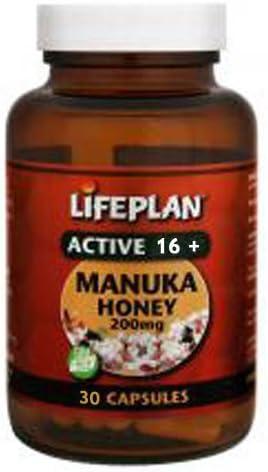 Lifeplan Active 16 Manuka Honey 200mg Capsules 30 Capsules product image