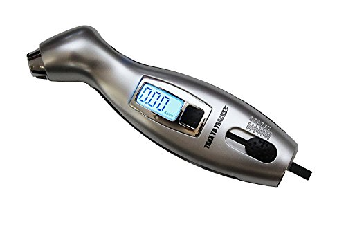 Digital Tire Pressure Gauge & Tread Depth Gauge for Car Motorcycle Truck Auto RV Bicycle. Accurate, Large, Easy to Read - Bright LCD Screen. Dual Use - Double Value and Lives Today!!