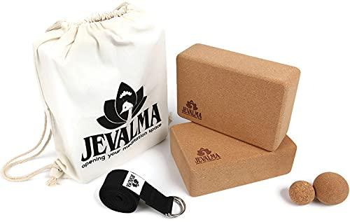 Jevalma 2 Blocks 3x6x9 + 2 Massage Balls + Belt
