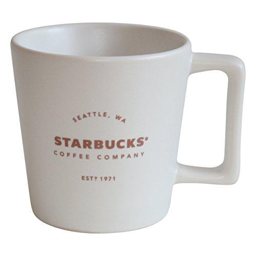 Starbucks Espresso Cup Royal White 1971 EST Mug Espresso Set Demiteje (1)
