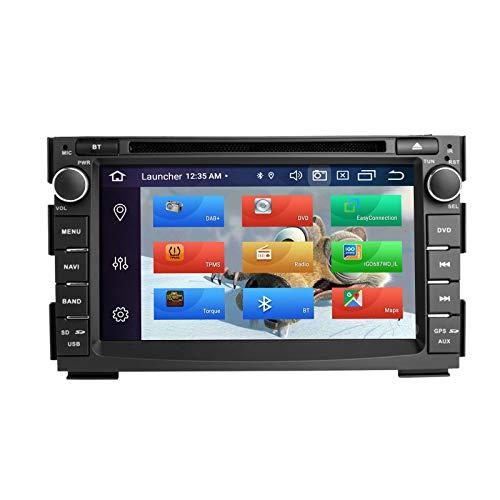 ZLTOOPAI Auto Multimedia Player für Kia Ceed Venga 2010-2012 Android 10 Octa Core 4G RAM 64G ROM 7 Zoll IPS Display Double Din In Dash Autoradio Audio Stereo GPS Navigation DSP