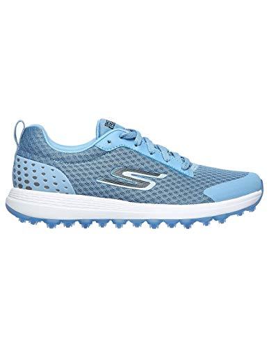 Skechers Go Golf MAX Fairway 2 Spikeless, Zapatos Golf Mujer Azul. (Azul, Numeric_40)
