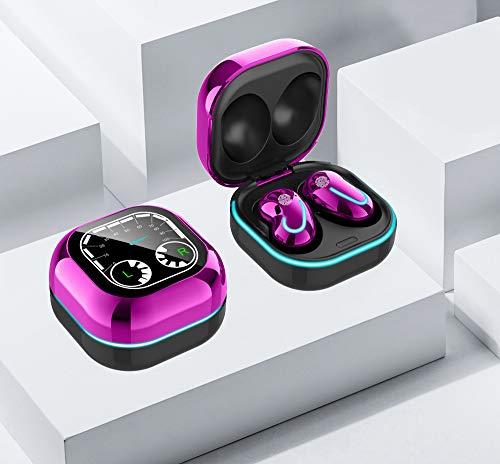 Bluetooth 5.1 Wireless Earbuds Headphone Headset Noise Cancelling TWS Waterproof, LED Smart Display, Breathing Atmosphere Light