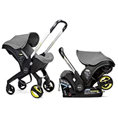 CAR SEAT WITH WHEELS - Doona is the world's first car seat with integrated wheels meaning that in less than five seconds you can be out of your car with your precious little one and on your way in safety and style. SAFETY - has been designed, alongsi...