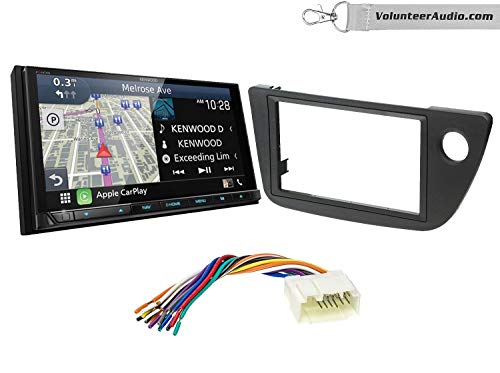 %44 OFF! Kenwood Excelon DNX996XR Double Din Radio Install Kit With Apple CarPlay, Android Auto, Sir...