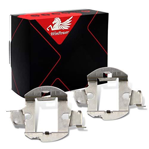 WinPower H7 HID Ampoule Base Des clips Adaptateur Titulaire Retenue Soutien Conversion Accessoires, 2 Pièces
