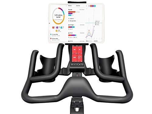 Marvorem Soporte Tablet Bicicleta estatica Compatible con iPad Universal valido Cualquier Manillar de Bici estatica Spinning eliptica Rodillo Soporte Tablet para Bicicleta estatica
